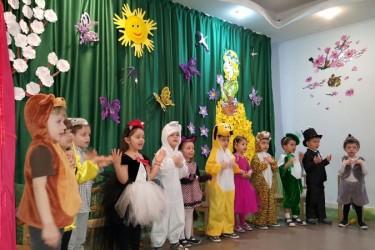 Serbare grupa mijlocie-Fiecare vietate are mama sa