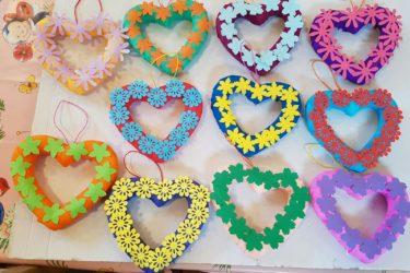 Atelier-ornament inimioara